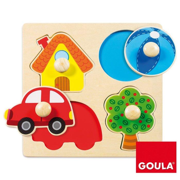 Puzzle color 4 piezas