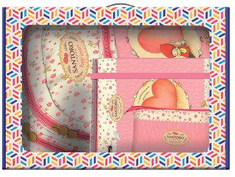 Pack regalo escolar santoro poppi loves heart
