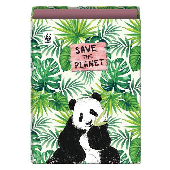 Carpeta anillas 40 mm wwf save the planet