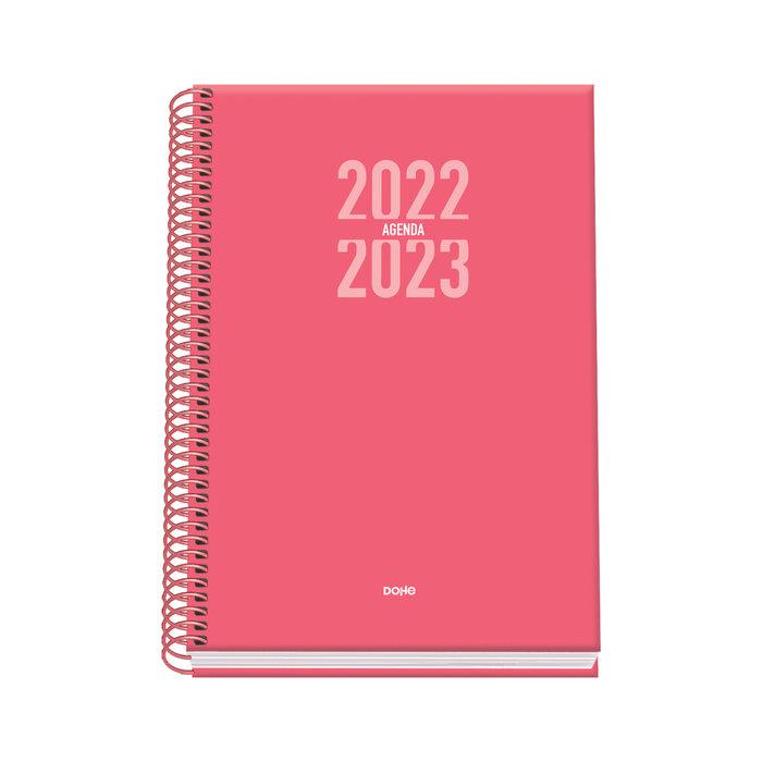 Agenda escolar sigma (s/v) - dohe - a5 - rosa
