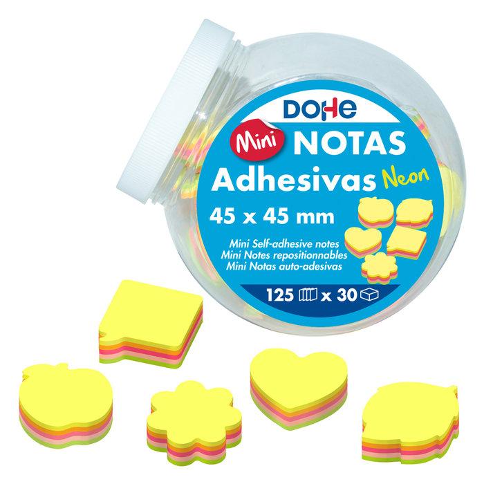Expositor 30 mini notas adhesivas neon