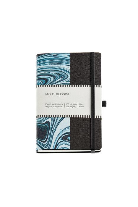Cuaderno notas marmol 112x174mm 84h horizontal simil piel