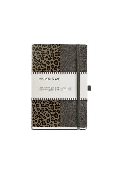 Cuaderno de notas piel 112x174mm 84 h horizontal simil piel