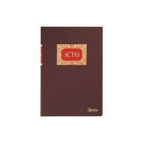 Libro contabilidad m rius fº 100h actas