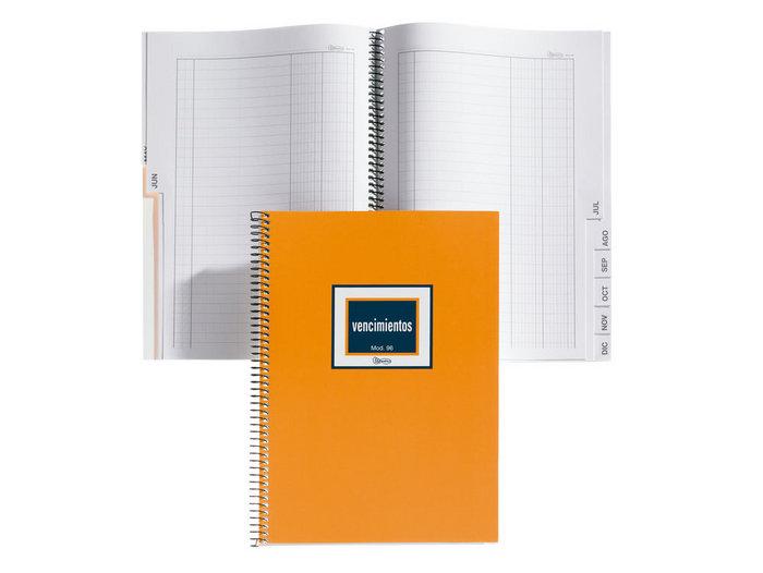 Libro contabilidad espiral 4º nat 48h vencimientos mod 96