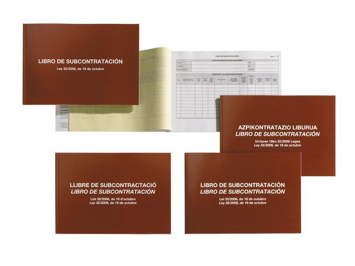 Libro de subcontratacion gall/cast mr