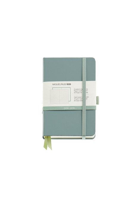 Cuaderno rigido 90x140 hor c/goma verde chromatic