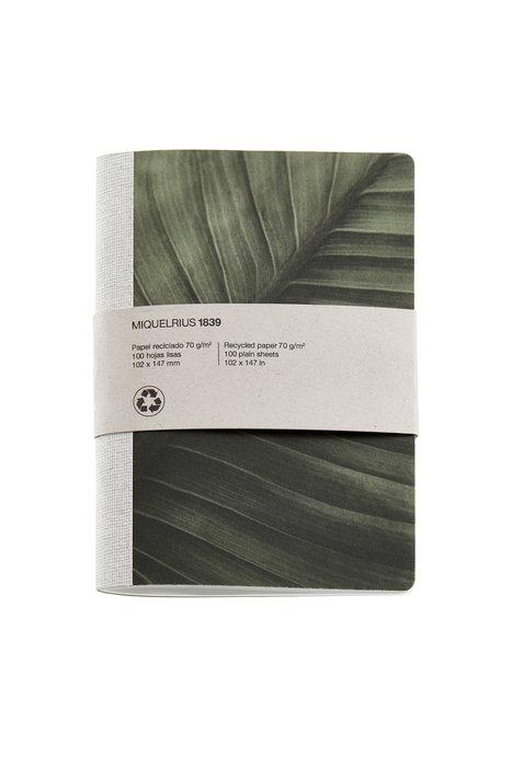 Cuaderno de notas hojas 4º 40 h liso reciclado