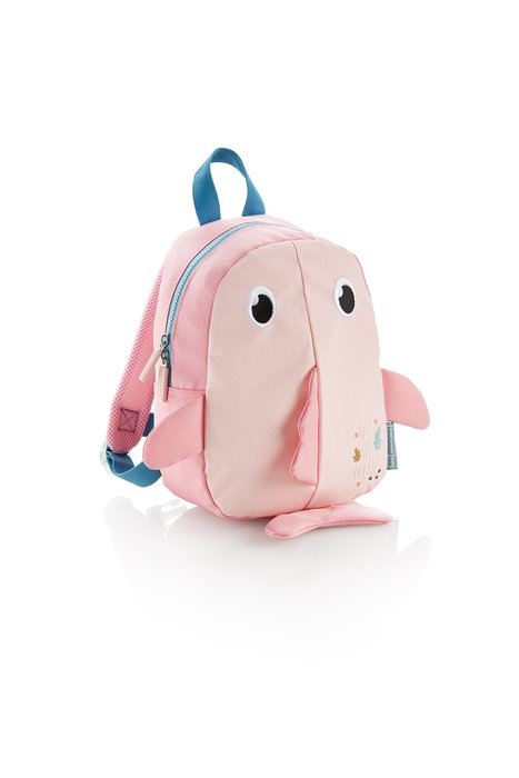 Mochila infantil rpet  save the ocean pez mr rosa