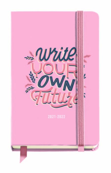 Agenda escolar carton your future 11,7x17,4cm dp  esp/ing