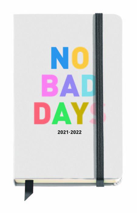 Agenda escolar carton no bad days 11,7x17,4cm dp  esp/ing