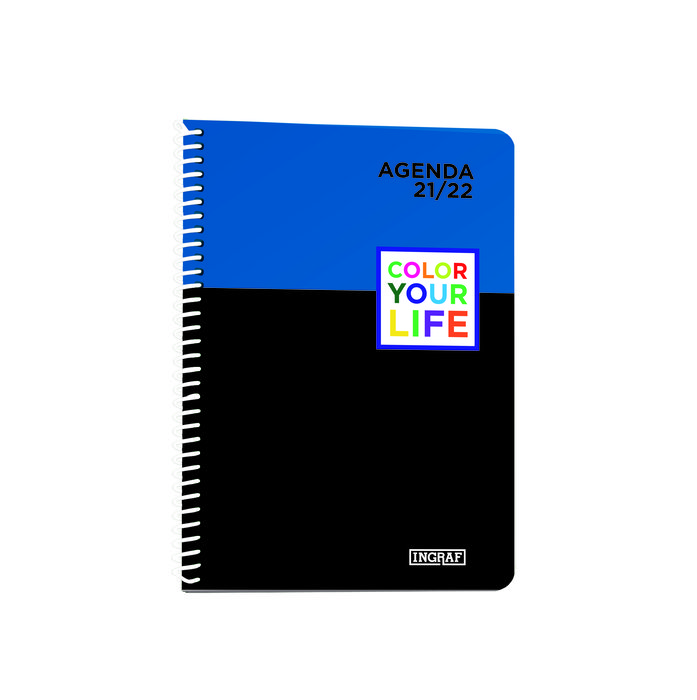 Agenda escolar 2021-2022 color your life 8º dia pagina pp