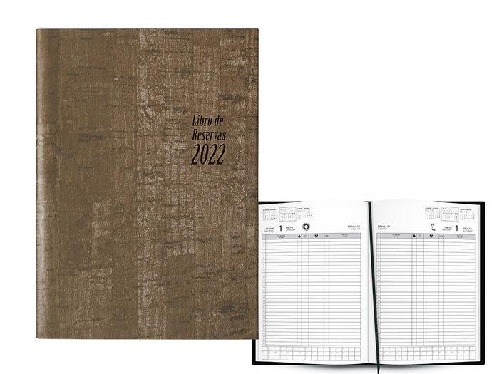 Libro de reservas 2 dias pagina 22x31 2022