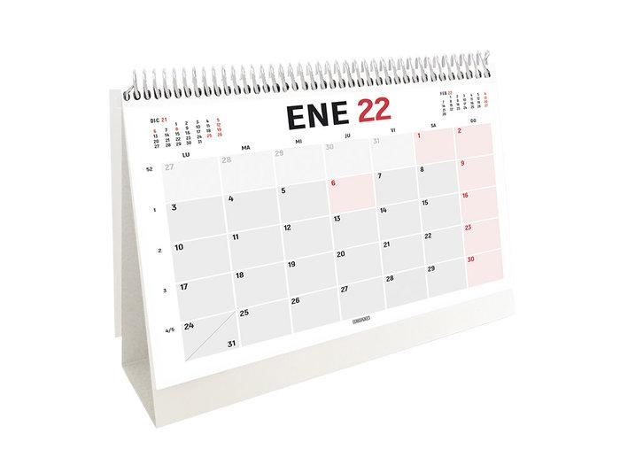 Calendario 2022 sobremesa para escribir 21x14