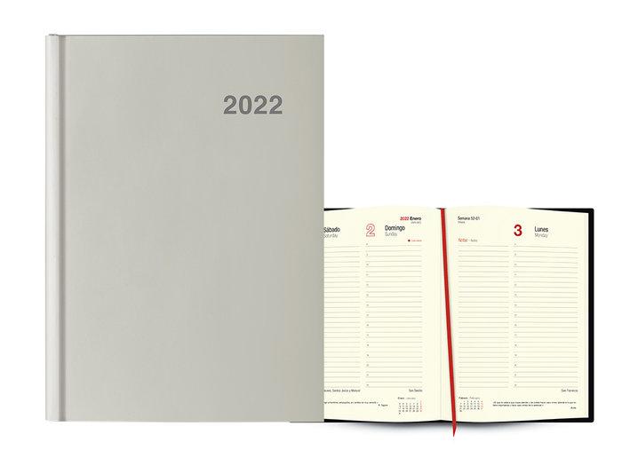 Agenda anual 2022 londres dia pagina 15x21 nube