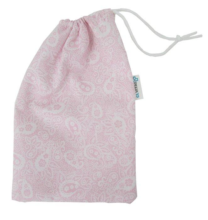 Funda mascarilla cachemir rosa