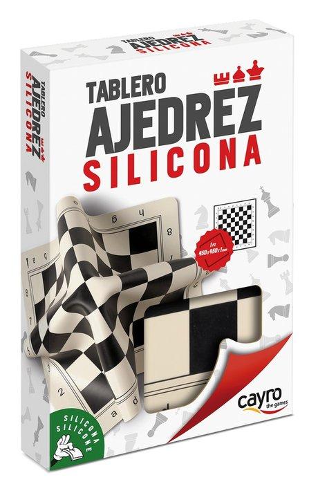 Tablero ajedrez profesional silicona