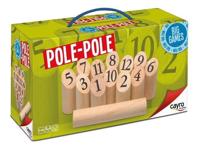 Juego de mesa madera pole - pole