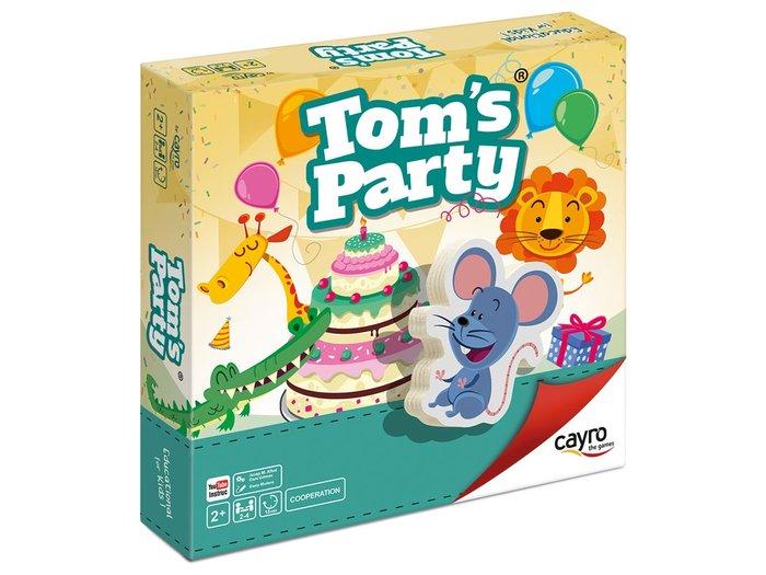 Juego de mesa infantil tom´s party