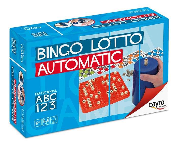 Juego de mesa bingo automatico