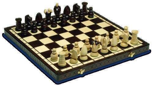 Juego ajedrez fantasia grande 44x44cm
