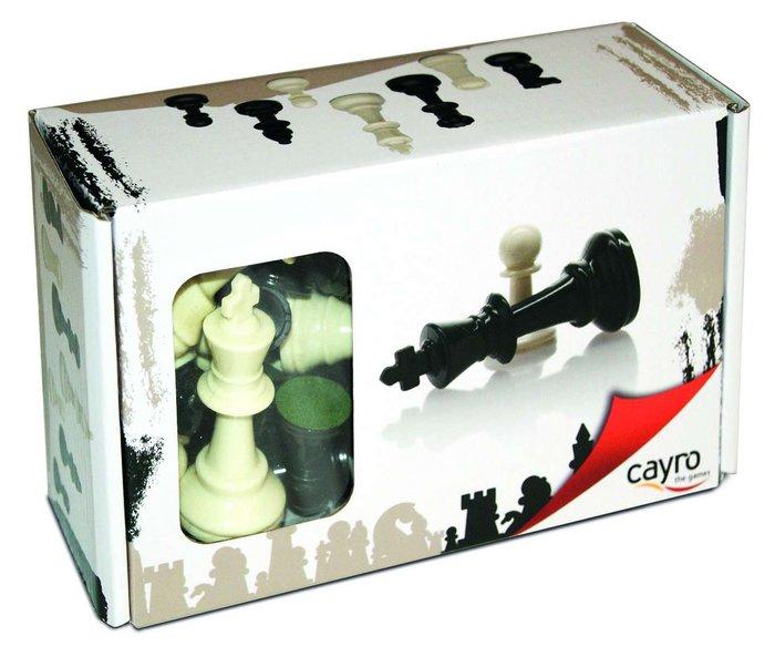 Accesorios ajedrez n4 en caja de carton