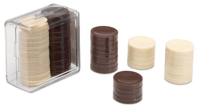 Accesorio damas caja de plastico