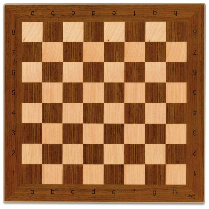 Tablero parchis ajedrez madera 40 x 40 cm