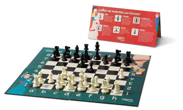 Juego de mesa mi primer ajedrez
