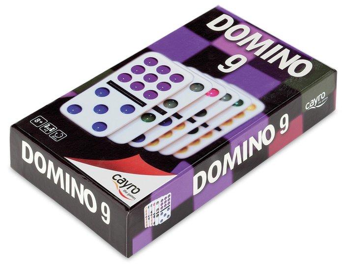 Juego de mesa domino colores doble 9