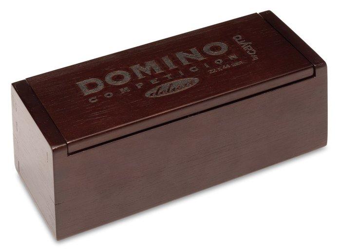 Juego de mesa domino competicion caja madera deluxe