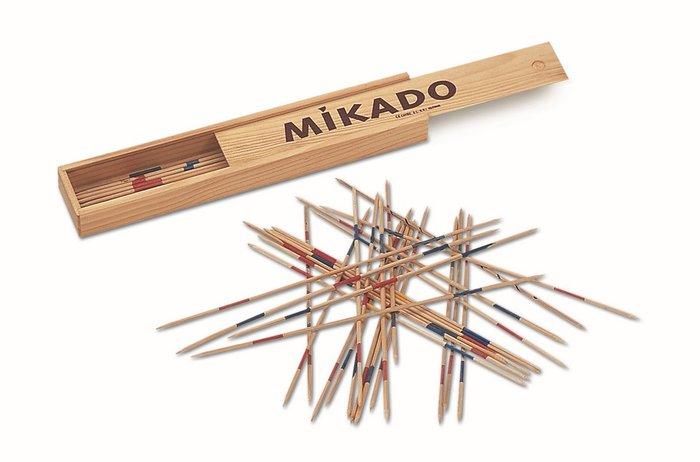 Juego de mesa mikado caja de madera