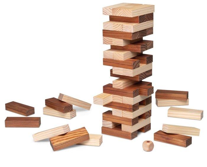 Juego de mesa block & block bicolor