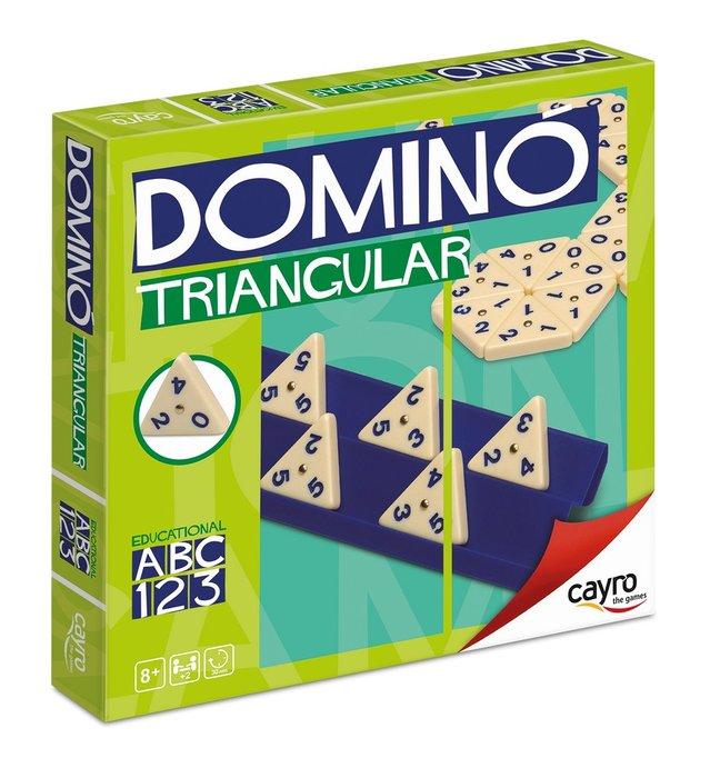 Juego de mesa domino triangular