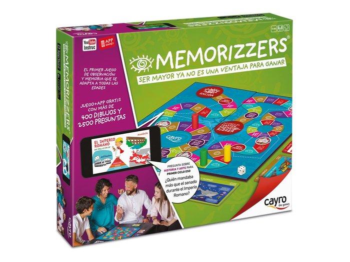 Juego de mesa memorizzers