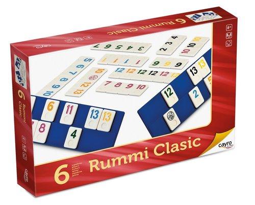 Juego de mesa rummiclasic 6 jugadores grande