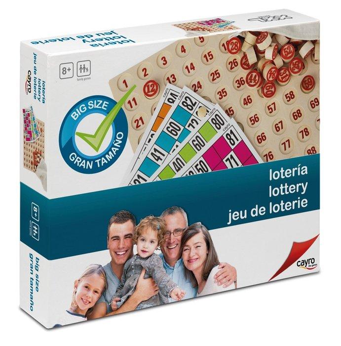 Juego de mesa loteria xxl