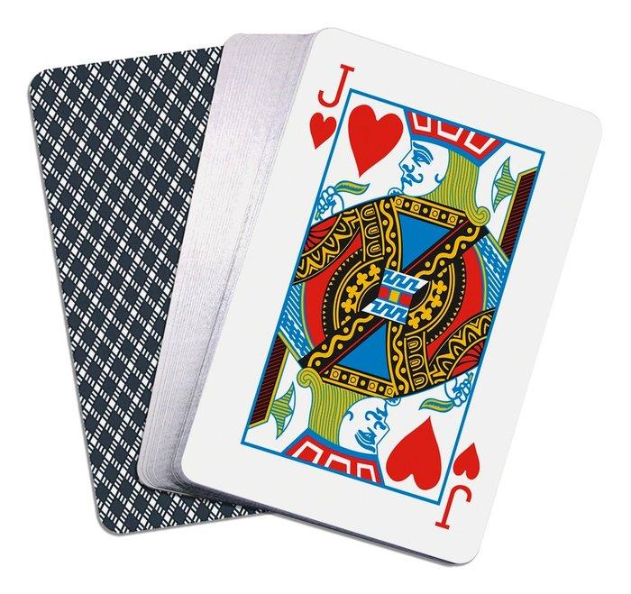 Baraja cartas poker 100 plastico