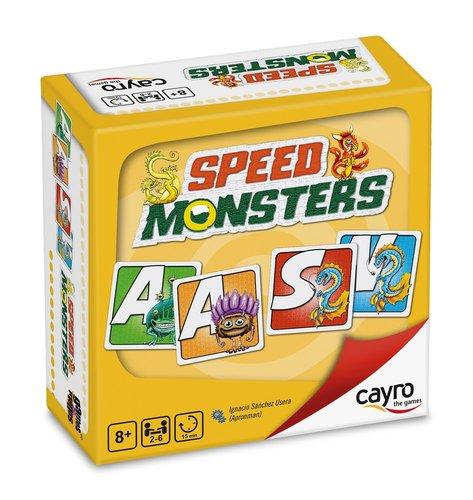 Juego de mesa speed monsters