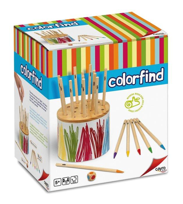 Juego de mesa colorfind