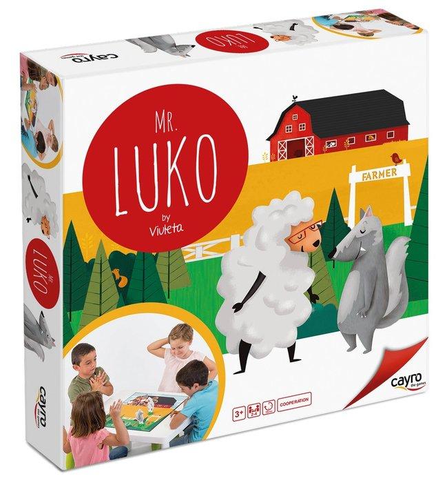 Juego de mesa mr luko