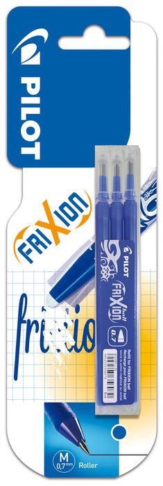 Blister 3 recambios frixion ball & clicker color azul