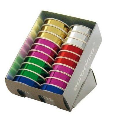 Cinta regalo metal 1106 13mm c-99 colores surtidos