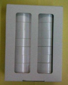 Cinta regalo 2412 19mm blanco