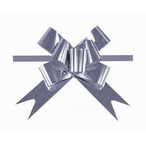 Lazo automatico 2206 31m metalizado plata