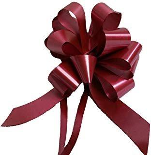 Cinta regalo 2412 31mm burdeos