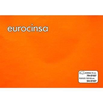 Papel kraft bobina 62 cm todo aÑo 79-c107 naranja