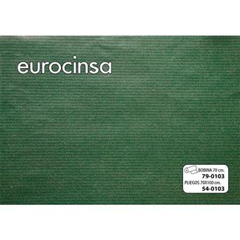Papel kraft bobina 62 cm todo aÑo 79-c103 verde oscuro