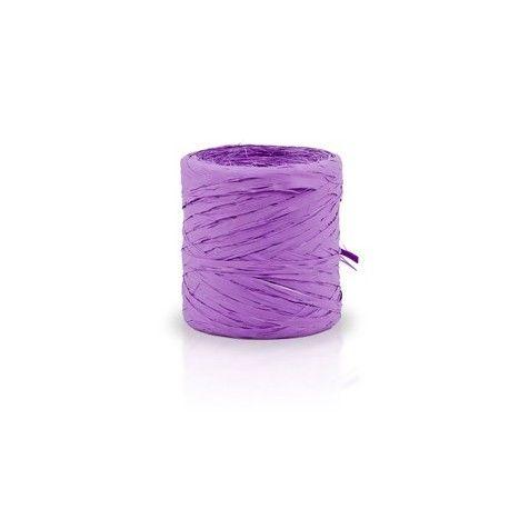 Rollo cinta rafia 15mmx200m lila