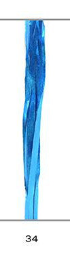 Cinta regalo rafia 15 mm metalizada azul 200 m